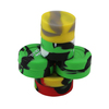 Wholesale butane hash oil silicone container,silicone jars dab wax container,silicone customized bho oil containe with low price