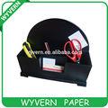 Bricolaje de suministros de oficina/grado superior de cuero accesorios de escritorio para intercalar 4