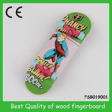 canadian maple wood finger skateboard