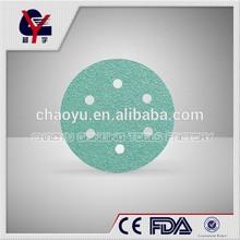 Good quality 6 inch abrasive velcro sanding disc