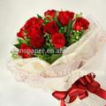 fresco de flores de papel de embalaje