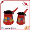 2014 personalized induction enamel moka coffee pot