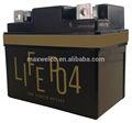 lifepo4 batería lifepo4 eléctrica de la batería de la motocicleta lifepo4 batería de la moto