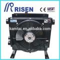 unidad de potencia hidráulica de placas de aleta enfriador de aceite