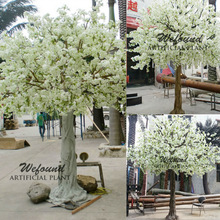 White cherry blossom tree,White peach blossom tree for wedding decoration