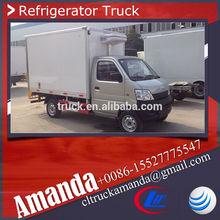 ChangAn 4*2 mini used freezer truck, vehicle freezer, truck freezer