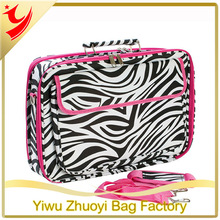 2014 Wholesale Laptop Computer Bags with Zebra Printing