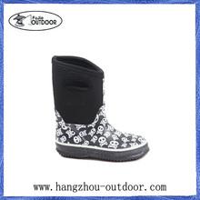 Printed Rubber Rain Boots,Kids Garden Boots,Kids Neoprene Boots