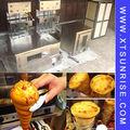 Chinois de fabrication automatique de cône pizza machine, pizza au fromage, machine à pizza