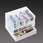 JA-YS-003 Transparent acrylic used glass display cases