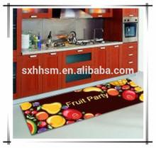 Fashion design print kitchen mat