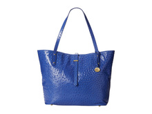 loyal blue genuine ostrich leather handbags,2014 the most popular handbag,tote bags for shopping