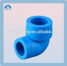 China manufacturer blue color ppr elbow