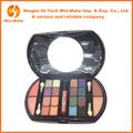 16 colores de sombra de ojos colores 4 blush/colorete 5 color brillo de labios de color 2 cosméticos base maquillaje kit de maquillaje profesional con doble el tamaño del pincel