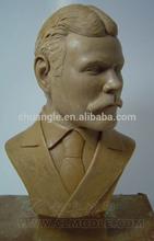 Nice famous person sculpture, Customized Sculpture statue