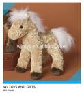 Custom stuffed animal toy plush horse for promotion