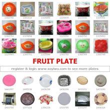Piatto di frutta da yiwu mercato- una fermata sourcing dalla cina