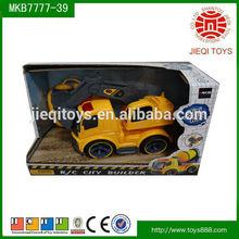 rc car 2014 hot sale rc car plastic radio control cementing truck rc car