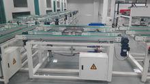 Solar module production line