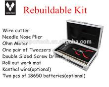 Top Selling High Quality Ecigarette DIY Tools RBA Supplies