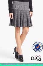 wholesale girls party short winter pleated winter sweater skirt