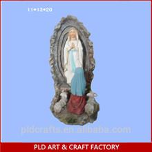 Polyresin religion figurine,Virgin Mary figurine