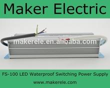 regulated ac dc power supply FS-100-12
