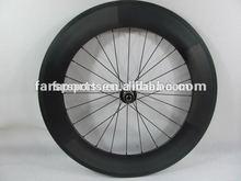 New U-shape aerodynamic 700C farsports new 23mm wide 88mm carbon bike wheels basalt braking surface (FSC88-CM-23)
