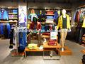 Deportes ropa al por menor de muebles de la tienda, tienda de accesorios