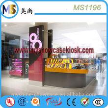 Myshine unique mobile phone shop interior design to sale mobile accessories display shelf