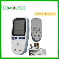 2014 hot selling domestic 220v power meter plug