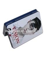 Good grade metal material rectangular business cards tin box