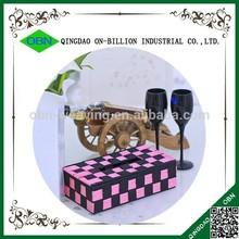 Wholesale cheap mini paper napkin box holder tissue box cover