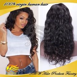 2015 Hot sale top grade wavy european hair full lace human hair wigs alibaba express