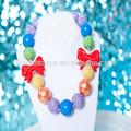 ultimo disegno perle di collana moda collane 2014 gioielli fatti a mano perle di grosso collana pendente in metallo fiocco di neve