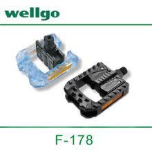 Folding Electric bike use Wellgo F178 Plastic Folding Bike Pedal
