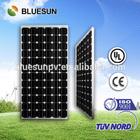 Bluesun top efficiency monocrystalline solar panel 200w 12v