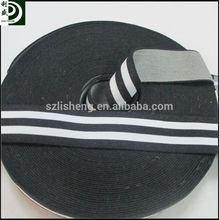 jacquard elastic belts with stripes flat