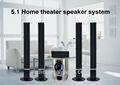 2015 virtuelle hifi 5.1-surround-sound-lautsprecher