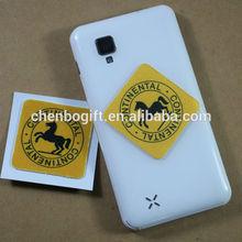 OEM custom smartphone self adhesive screen cleaner, mobile screen cleaner sticker