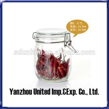 2014 Hot Sale 700ml High Quality Swing Top Glass Storage/Pickle Jar