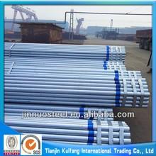 ASTM A53 GR.B hot dip galvanized schedule 40 steel pipe