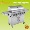 In acciaio inox bbq/barbecue, barbecue grill a gas, esterno barbecue grill