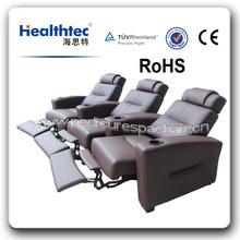 luxury comfortable octomatic recliner vip cinema sofa set