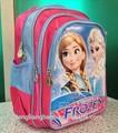 nuevo 2014 congelados bolsa de la escuela mochila elsa anna congelados