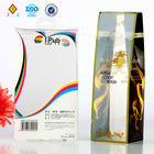 clear wine glass gift box plastic food packaging for display