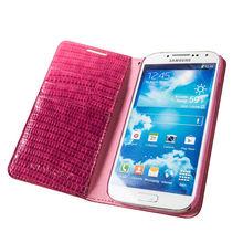 Qialino 2014 fashion slim deisgn flip mobile phone case for samsung S4