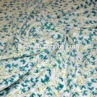 New Design silk crepe fabric dress material