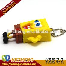 8GB Spongebob USB Flash Drives With Keychain