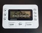 4 channel timer or 4 groups timer, digital timer with clock, multi channel digital timer